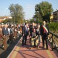 Nuova ciclabile Via Larga - Inaugurazione 10 ottobre 2010